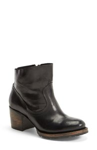 FreeBird Ankle Leather Upper Made In Mexico Black Boots