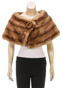 Bobette Bobette New York Brown Fur Capelet
