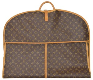 Louis Vuitton Monogram Garment Wardrobe Brown Travel Bag