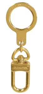 Louis Vuitton Louis Vuitton Gold Plated Anokre Key Ring Keychain Bag Charm M62694