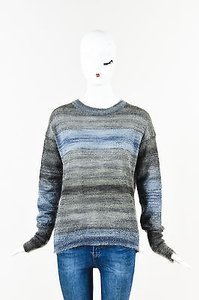 MiH Jeans Gray Mohair Silk Sweater