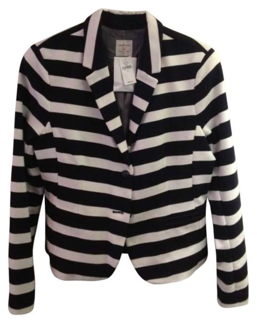 Preload https://item2.tradesy.com/images/gap-navy-and-white-striped-the-blazer-size-12-l-196541-0-0.jpg?width=400&height=650