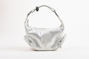 Tod's Tods White Metallic Shoulder Bag