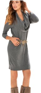 Boston Proper short dress Gray on Tradesy
