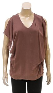 Brunello Cucinelli Top Mauve/Brown