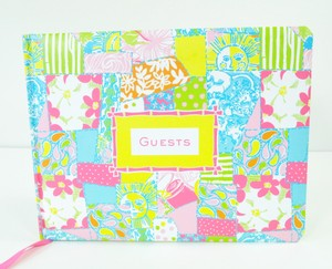 Lilly Pulitzer Guest Book - Featured In Loco Patch - New - Signature Book