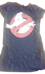 ghostbusters Fitted T Shirt black