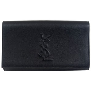 Saint Laurent Ysl 361120 Black Clutch