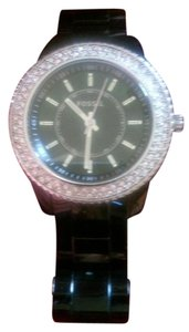Fossil Stricking Black/Sparkling Fossil Watch