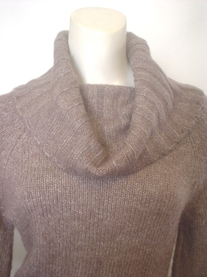 236ac91383183 Carolyn Taylor S Cowl Neck Ribbed Folded Cuff Wool Blend Sweater - 20% Off  Retail