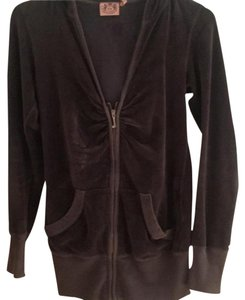 Juicy Couture Extra-long Velour Hoodie