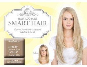 Hair Couture One Piece Smart Hair(R) Monoline Extensions 20