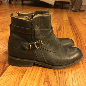 Frye Jayden Leather Black Boots