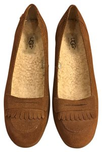 UGG Australia Ugg Pumps Brown Suede Wedges