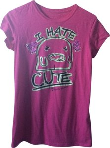 David & Goliath T Shirt hot pink