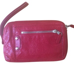 Balenciaga Free Shipping Wristlet in Red