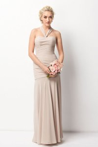 Wtoo Mocha Watters Watters 208 Feminine Bridesmaid/Mob Dress Size 10 (M)