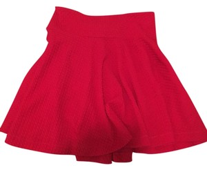 Urban Outfitters Mini Mini Skirt Red
