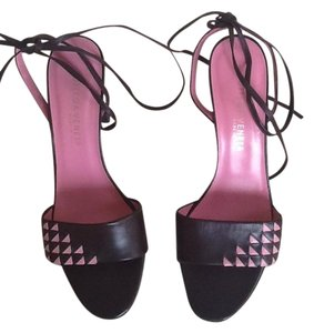 Bottega Veneta Brown/pink Sandals