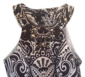 INC International Concepts short dress brown and white on Tradesy