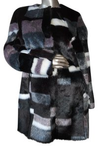Dawn Levy Walker Winter Faux Fur Fur Coat
