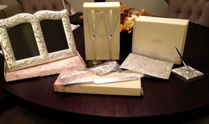 Lenox Opal Innocence Wedding Set (sold As A 4 Piece Set- $100 Sold Individually- Priced Below).