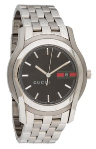 Gucci Stainless steel 38mm Gucci 5500 Series quartz movement watch
