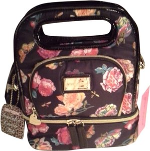 Betsey Johnson Tote in Black/Floral