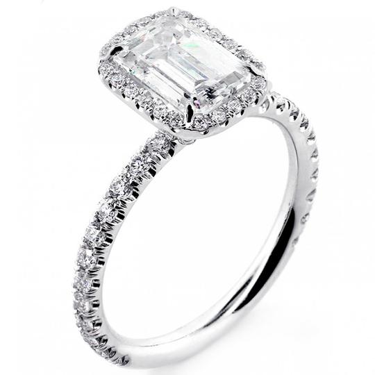 Preload https://img-static.tradesy.com/item/19656640/white-gold-182-cts-emerald-cut-diamond-with-halo-set-in-platinum-engagement-ring-0-1-540-540.jpg
