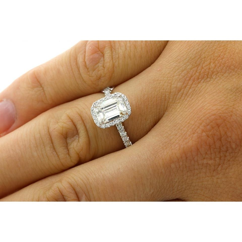 rose stone band nicole emerald diamond cut
