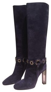 Emilio Pucci Navy Boots