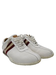 Bally White and Red Athletic