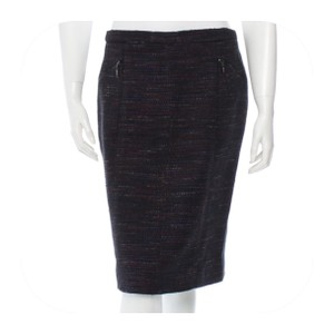Chanel Skirt Black & Multicolor