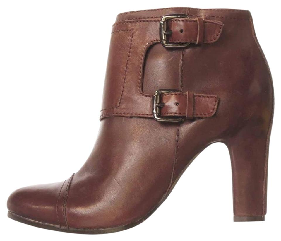 Sam Leather Edelman British Burgundy Sylas Leather Sam Ankle Boots/Booties 59cabf