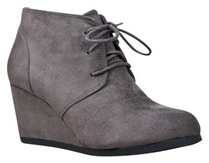 City Classified Charcoal Gray Boots
