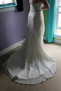A-line With A Sweetheart Neckline. Wedding Dress