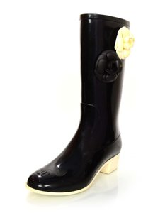 Chanel Rain Rubber Boots