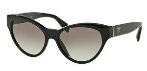 Prada Prada SPR08S Sunglasses PR08S Black 1AB0A7 Authentic