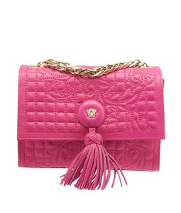 Versace Vanitas Medusa Leather Cross Body Bag