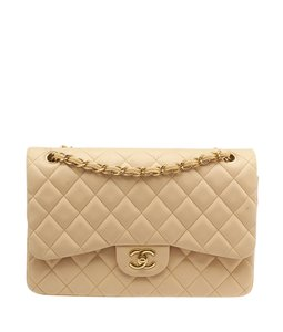 Chanel Jumbo Quilted Lambskin Shoulder Bag