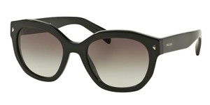 Prada Prada SPR12S Sunglasses PR12S Black 1AB0A7 Authentic