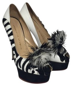 Charlotte Olympia Multi-color black and white Platforms