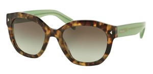 Prada Prada SPR12S Sunglasses PR12S Brown Green UEZ4K1 Authentic