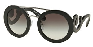 Prada Prada SPR13S Sunglasses PR13S Black 1AB0A7 Authentic