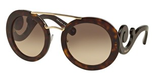 Prada Prada SPR13S Sunglasses PR13S Havana Brown 2AU3D0 Authentic