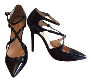 Guess Elegant Still In Box Sexy Patent Leather Black Pumps