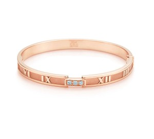 Tiffany & Co. Tiffany Atlas Closed Hinged Bangle