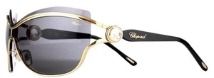 Chopard Chopard Sunglasses SCH A61S 0349 Shiny Rose Gold Floating Crystals