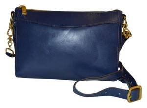 J.Crew Navy Designer Blue Cross Body Bag