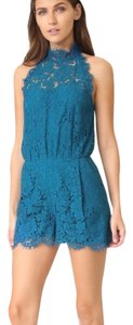 Diane von Furstenberg Dvf Lace Romper Jumpsuit Dress